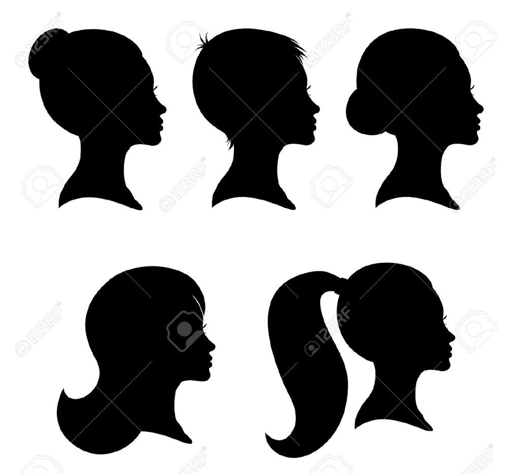 Pin By Paul Best On Offline Society V2 Silhouette Face Woman Silhouette Woman Face Silhouette
