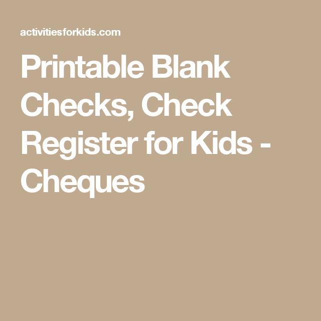 printable blank checks