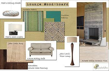 Elizabeth Bee Interior Design - Example Mood-board ...