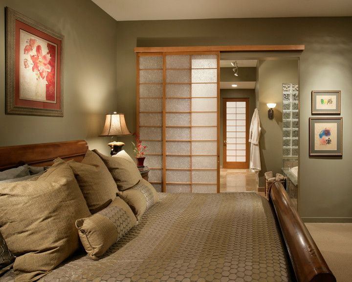 Beau FireRock Coutry Club 2   Asian   Bedroom   Phoenix   Sandella Custom  Interiors, LLC   Shoji Style Doors Leading To My (future) Adjoining  Bathroom, ...