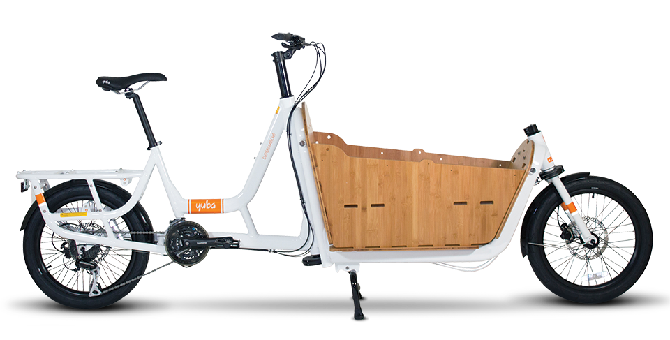 Supermarche Front Loader Cargo Bike Yuba Cargo Bikes In 2020 Cargo Bike Bike Electric Cargo Bike