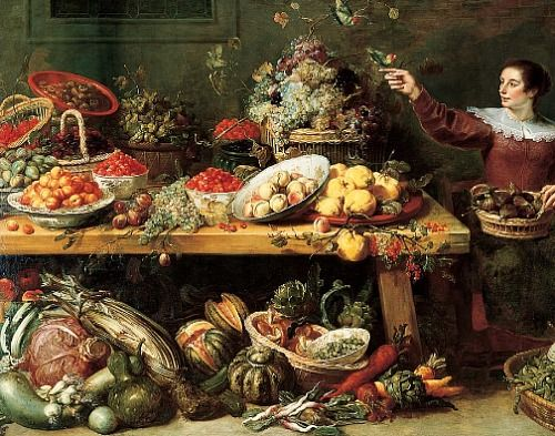 frans snyders still with fruit and vegetables 17th century most epic of still lifes