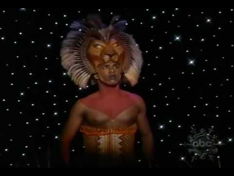 He Lives In You Reprise On The View Lion King Video Lion King Broadway Lion King Musical
