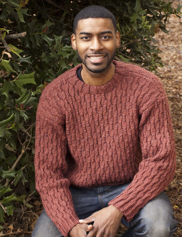 Cabled Heather For Him in Cascade 220 - W315 | Knitting ...