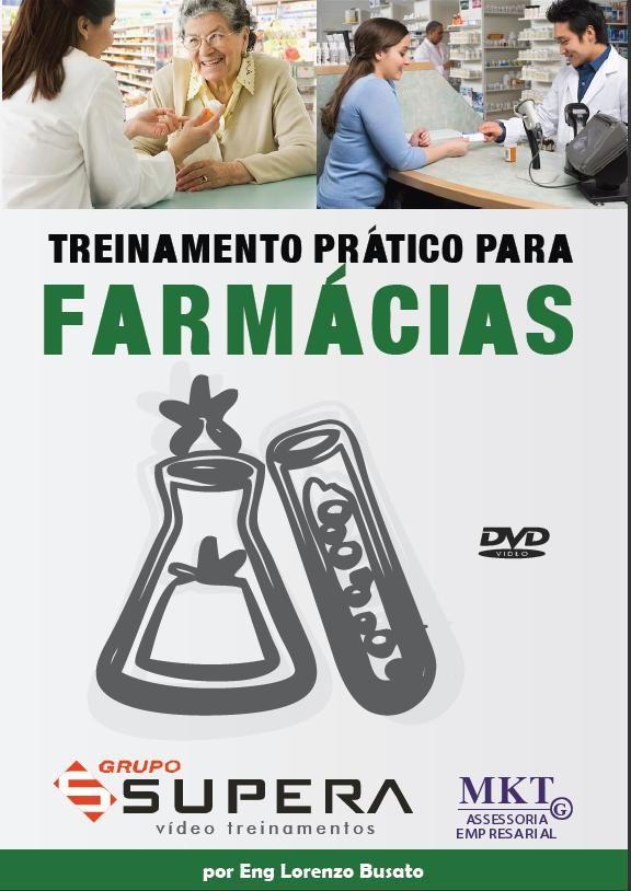 DVD Video Treinamento Prático para FARMÁCIAS adquira o seu no site www.gruposupera.com.br