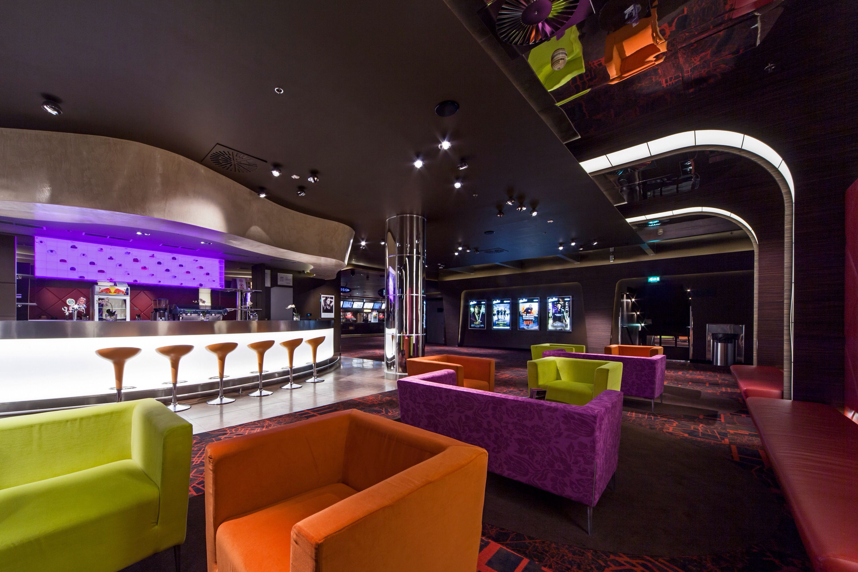 Arena Cinestar Multiplex In Zagreb Lobby Second Floor