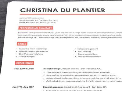 Live Career Resume Builder Free Resume Builder And Sample Resume