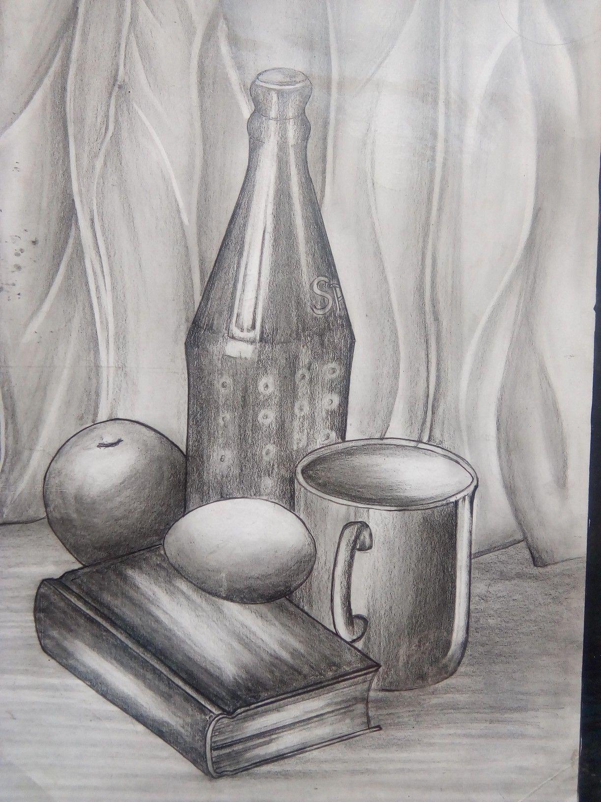 Still Life Drawing Pencil Shading