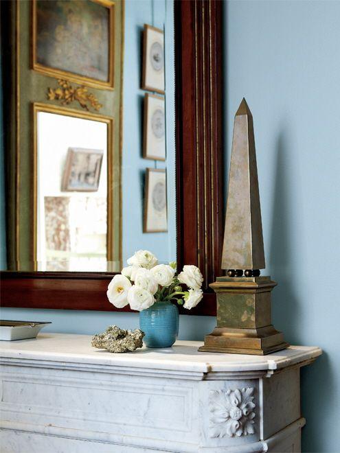 beautiful blue walls For the Home Pinterest Dulce hogar