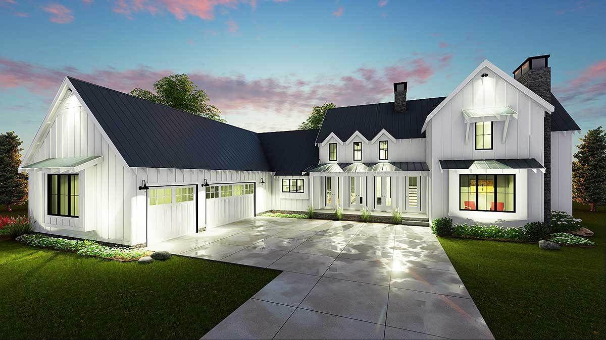 Modern Farmhouse Exterior Design Ideas (8)