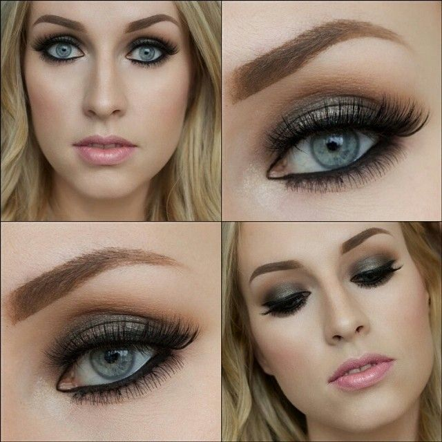 9a38b565616 ... is wearing super natural and fluffy-looking #ElegantLashes #052 bottom  false lashes from our Sexy Undies collection. Perfect smokey eye for light- eyed, ...