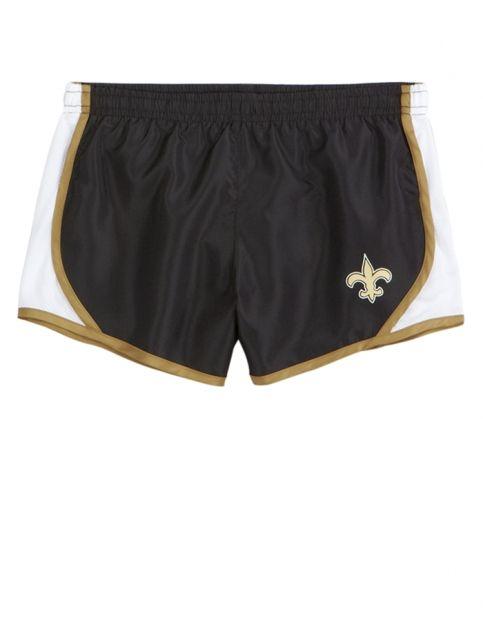 super popular 13c61 28afd Nfl® New Orleans Saints Running Short | Girls Nfl® Sports ...
