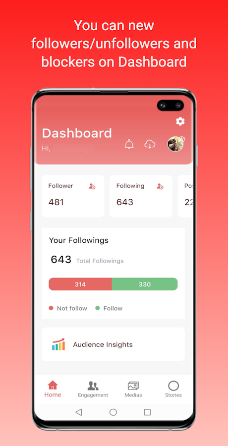 Trackly Insights For Instagram Unfollower For Android Insight Instagram Informative