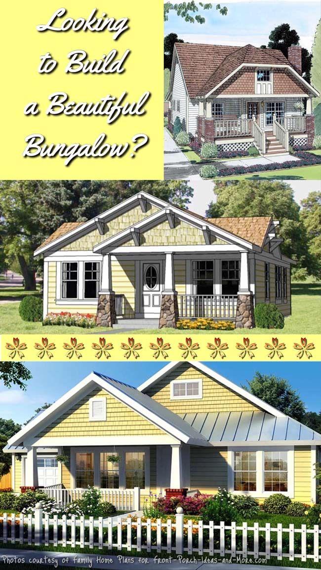 Bungalow Floor Plans Front Porch