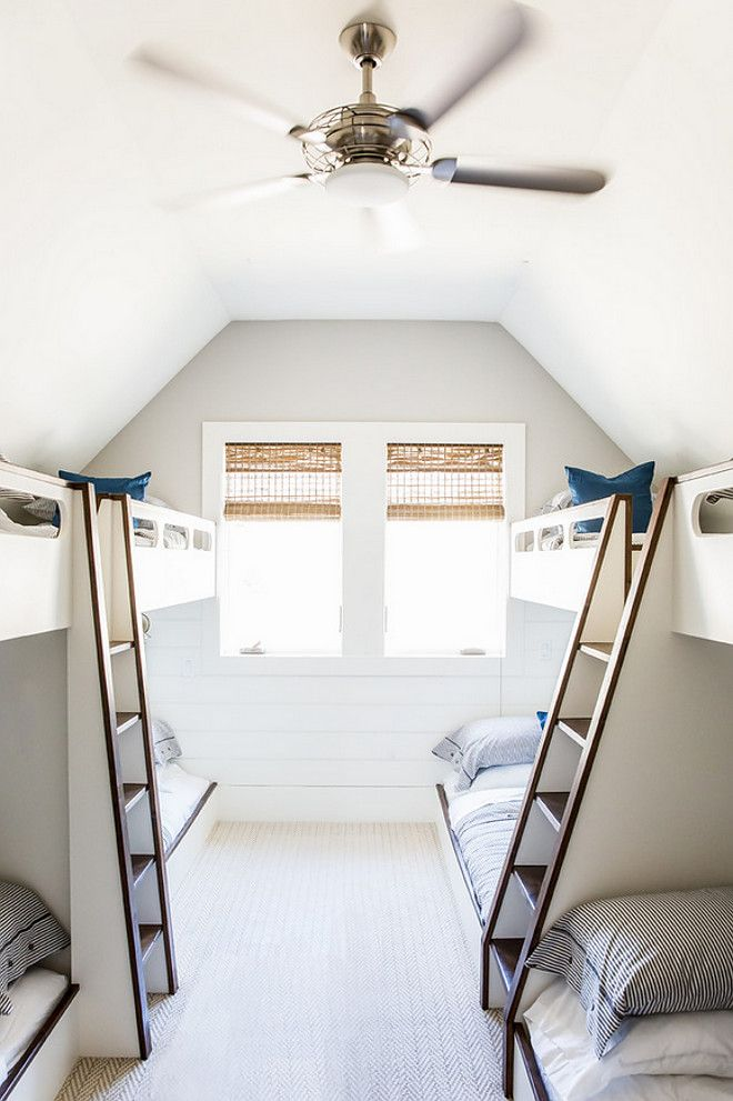 Second floor bunkroom. Timber Frame Home with Farmhouse-Inspired ...