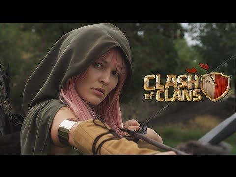 Clash of Clans: Live Action Movie Trailer Commercial - YouTube
