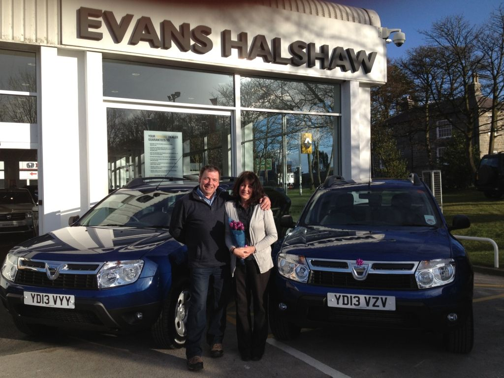 Congratulations to Mr and Mrs Ireland on their delivery of