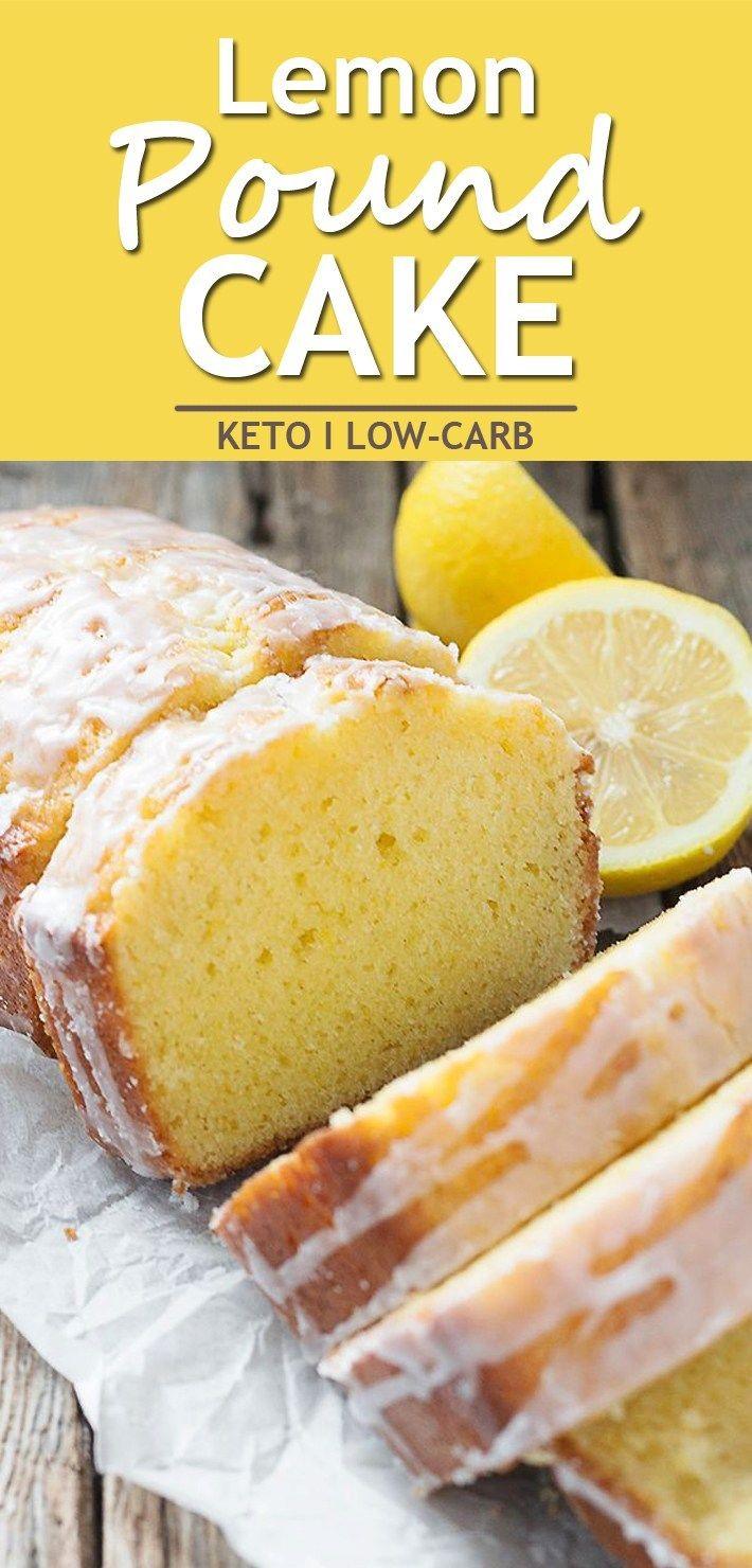 Keto Lemon Pound Cake #ketodessert