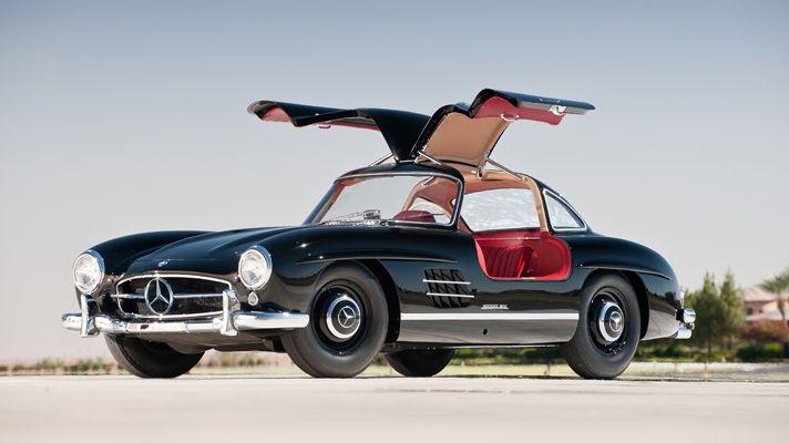 1957 Mercedes-Benz 300 SL Gullwing coupe
