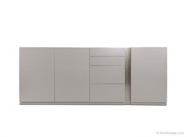buffet design leiria mdf laqu blanc noire rouge gris violet 1290. Black Bedroom Furniture Sets. Home Design Ideas
