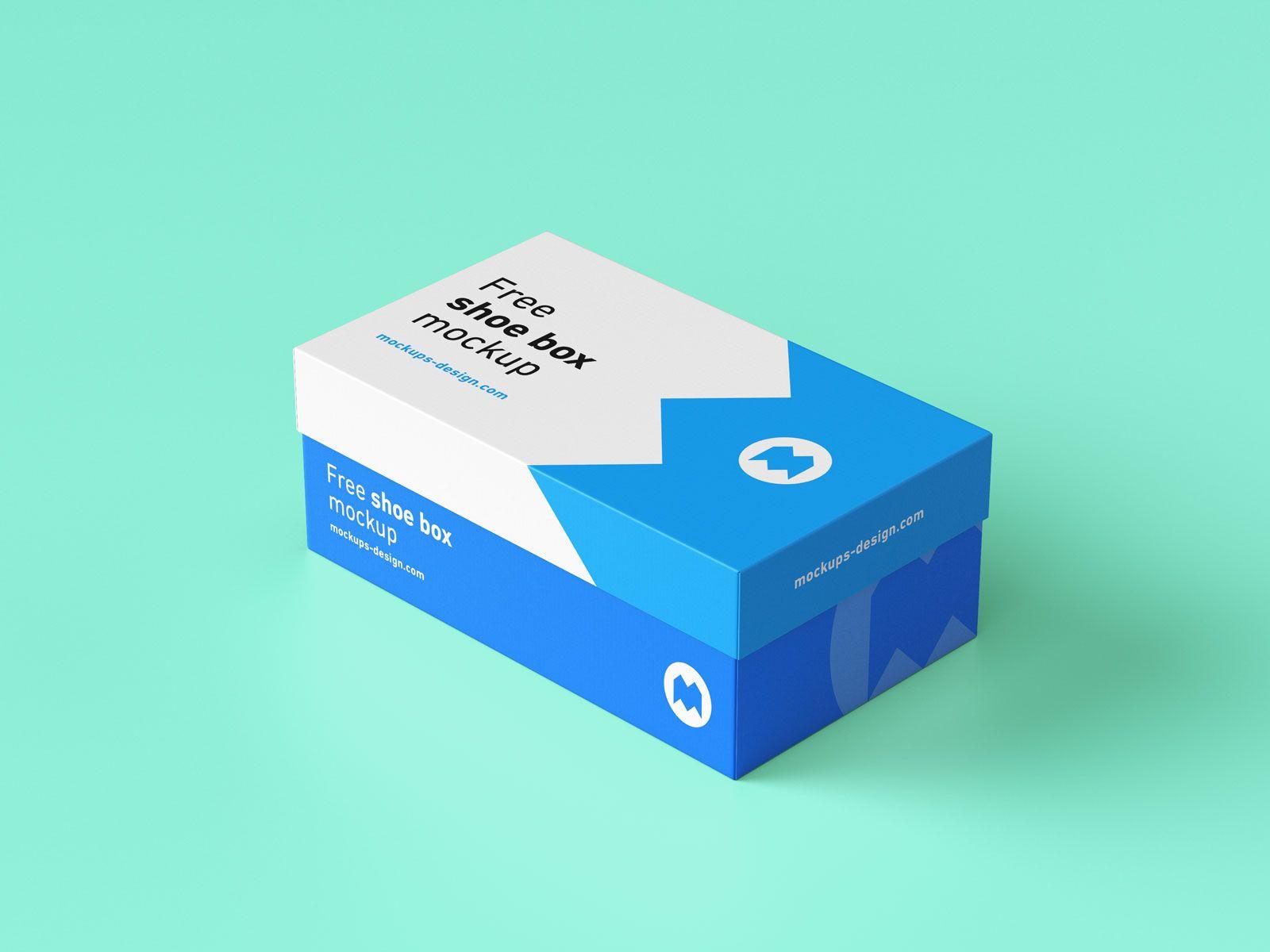 Download Free Show Box Mockup Psd File 4 Shoe Box Design Box Mockup Packaging Mockup