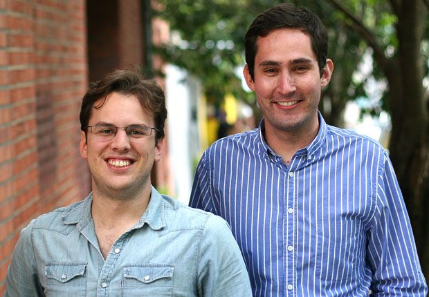 Kevin Systrom & Mike Krieger (founders of Instagram