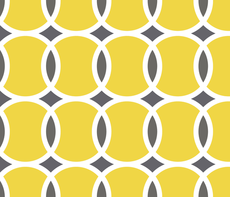 Colorful Fabrics Digitally Printed By Spoonflower Yellow