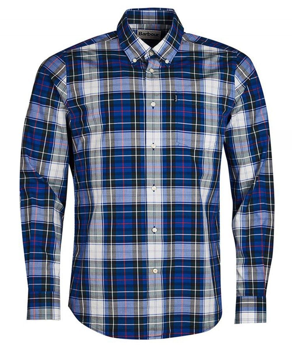 bdd1cd82312 BARBOUR CHECK HIGHLAND SHIRT BLUE.  barbour  cloth