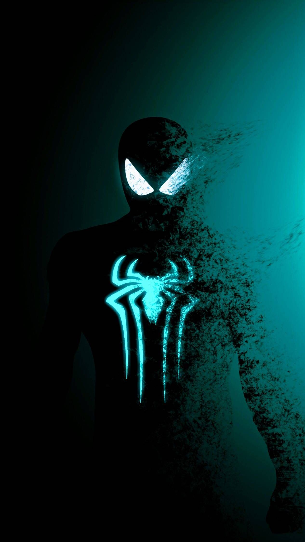 Black Spidey Iphone Wallpaper Spiderman Artwork Spiderman Art