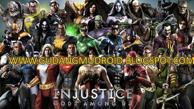 Free Download Injustice Gods Among Us Mod Apk V2 7 0 Full Version 2016 Gudangmudroid Free Download Game Android Apk And Software Build An Epic Roster Of D