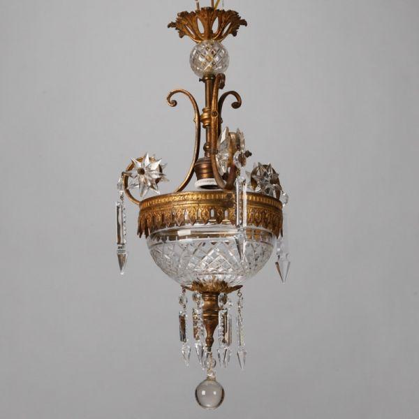 Medium Signed Amber Verlys Glass Vase In 2020 Vintage Crystal
