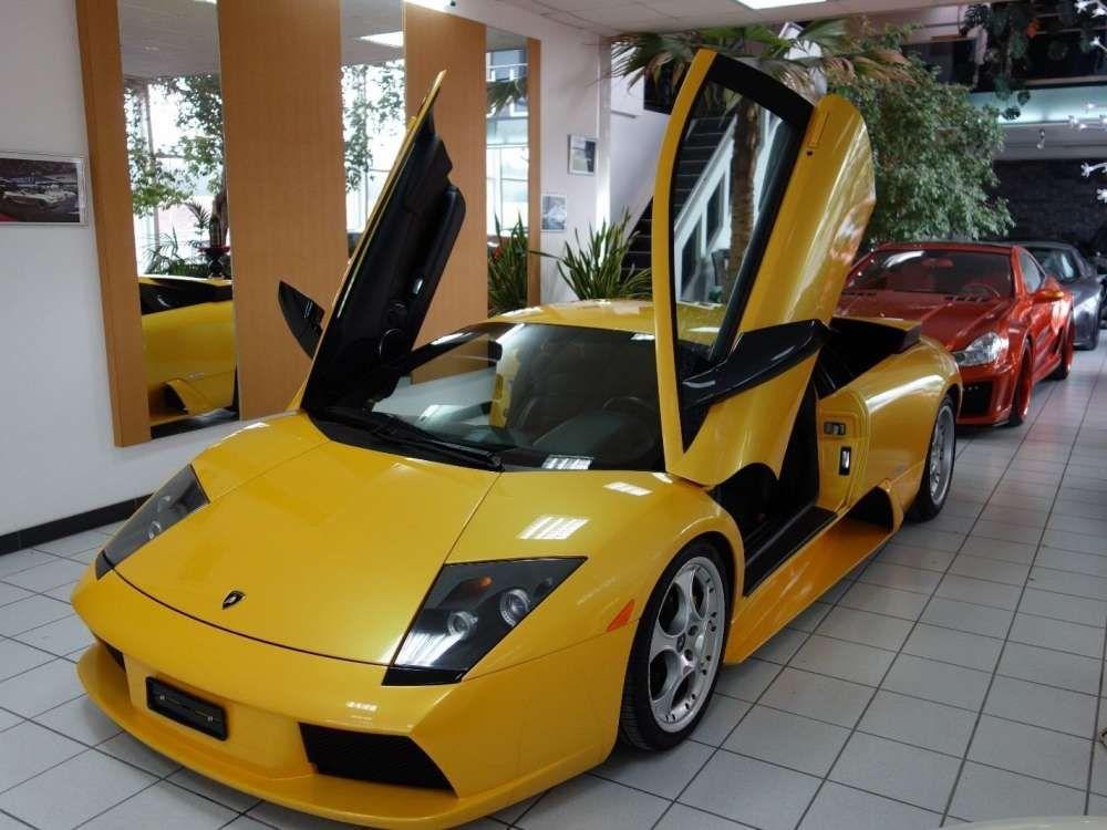 2002 Lamborghini Murcielago Yellow Coupe Tags 2002 Lamborghini