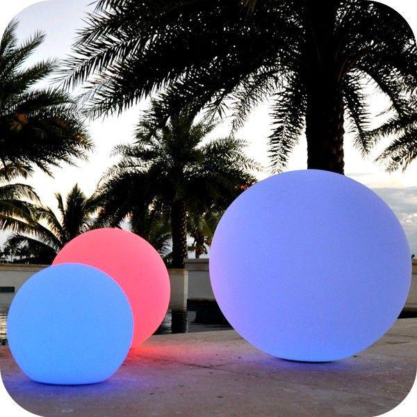 Plastic Light Sphere Outdoor Sphere Led Lighting Ball Lights