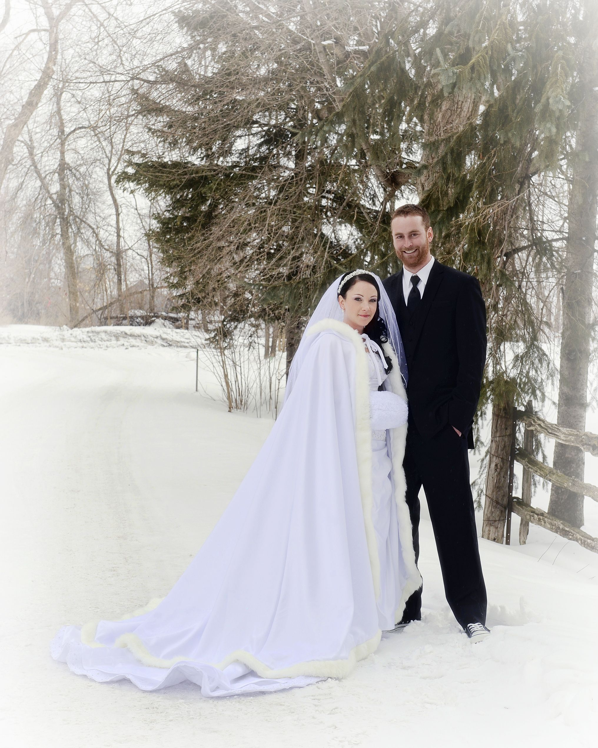 A Rustic Winter Wedding at Strathmere in North Gower ...