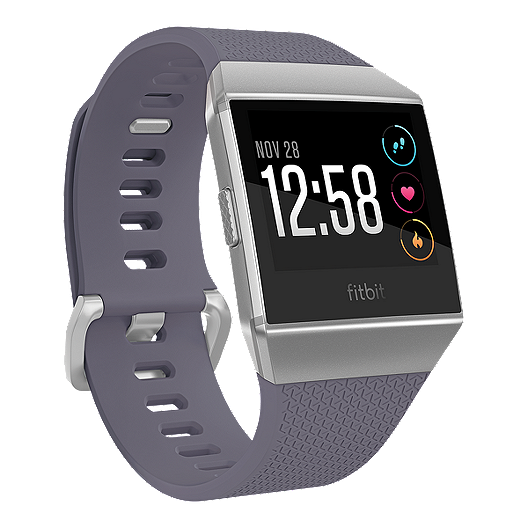 Fitbit Ionic Smartwatch Blue Grey/Silver Grey Fitbit