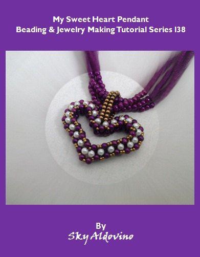My Sweet Heart Pendant Beading & Jewelry Making by XQdesigns, $3.99