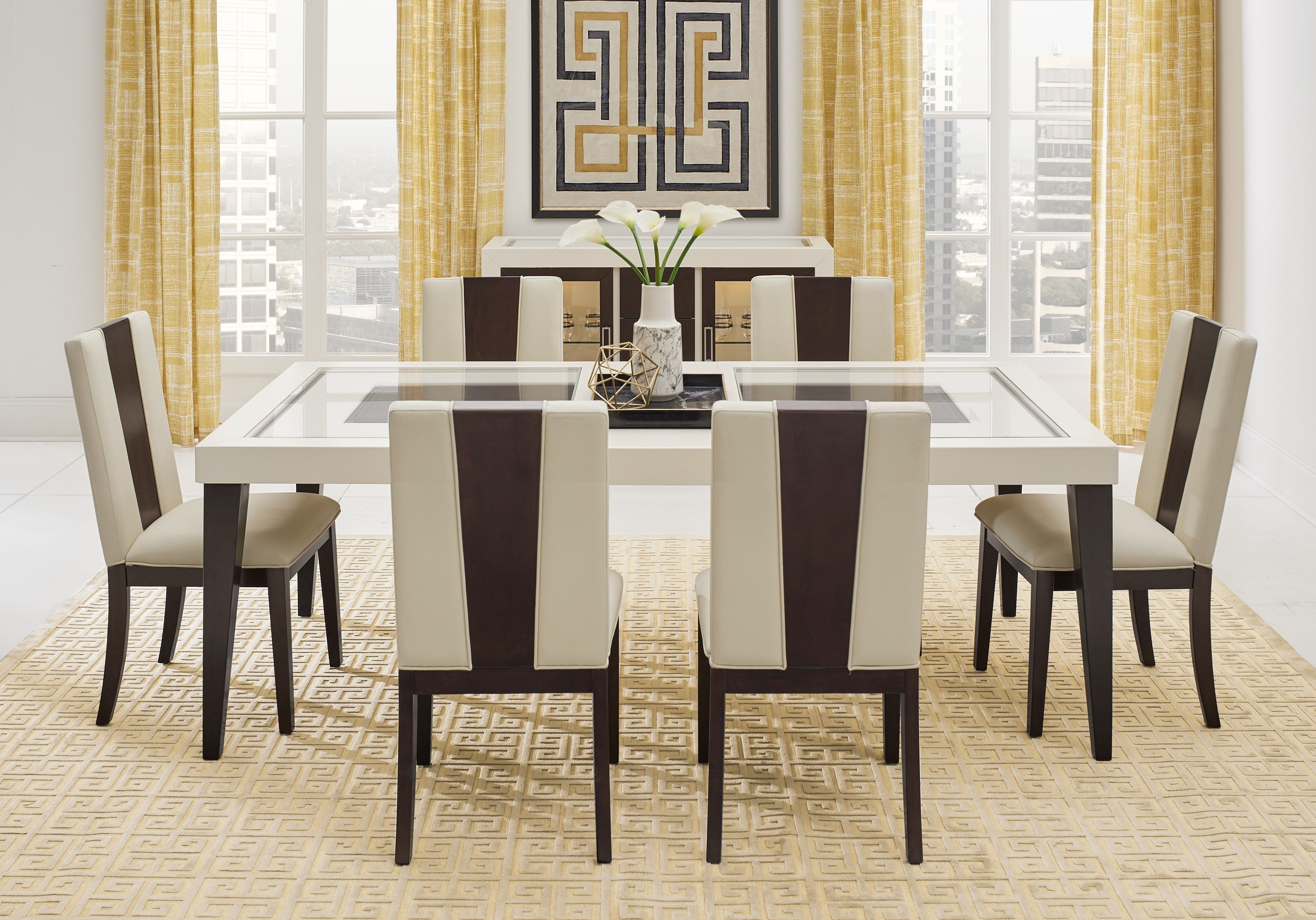 23++ Ivory dining table set Trending