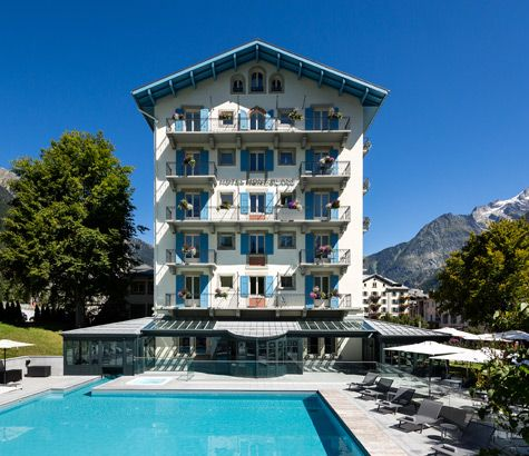 Hotel Mont Blanc Chamonix English Version