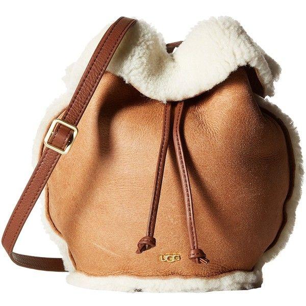Ugg Claire Drawstring Chestnut Er Handbags 265 Liked On Polyvore