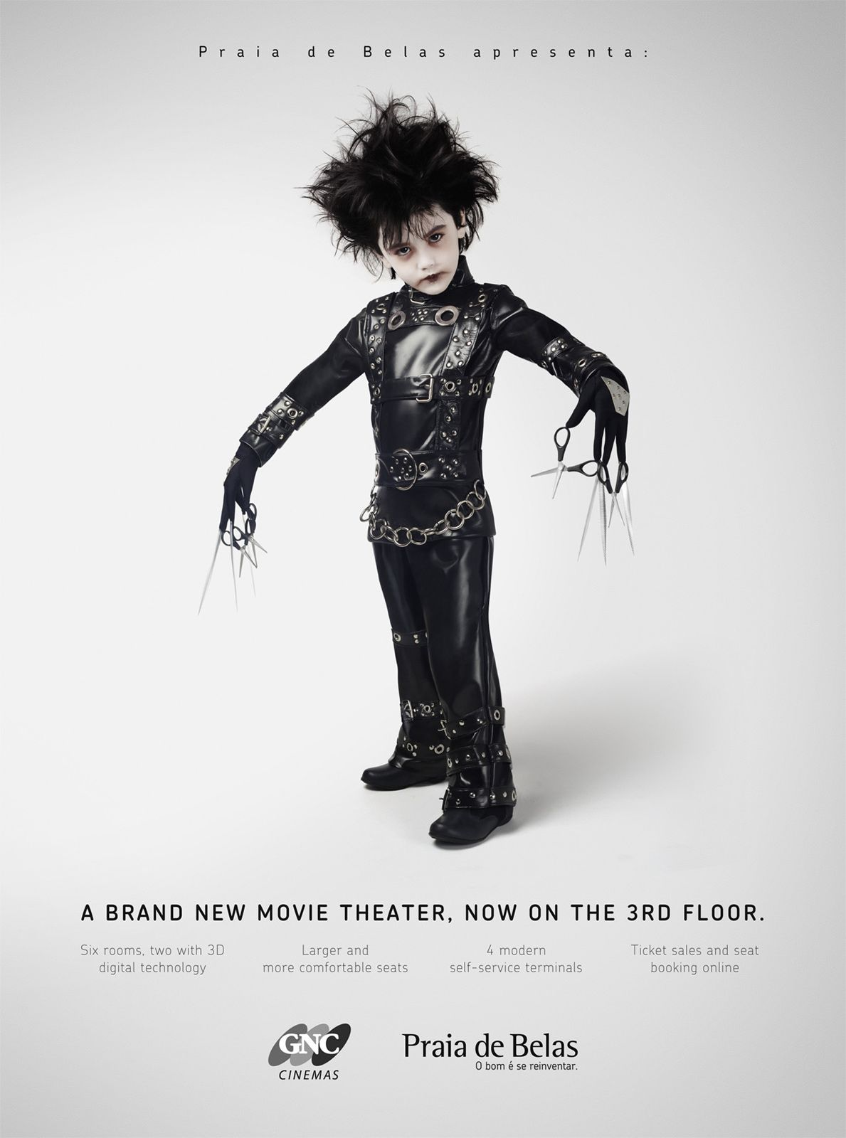 Edward Scissorhands - Personagens mirins de filmes famosos | Criatives