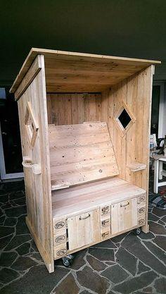 pallets recycled strandkorb chair m bel pinterest. Black Bedroom Furniture Sets. Home Design Ideas