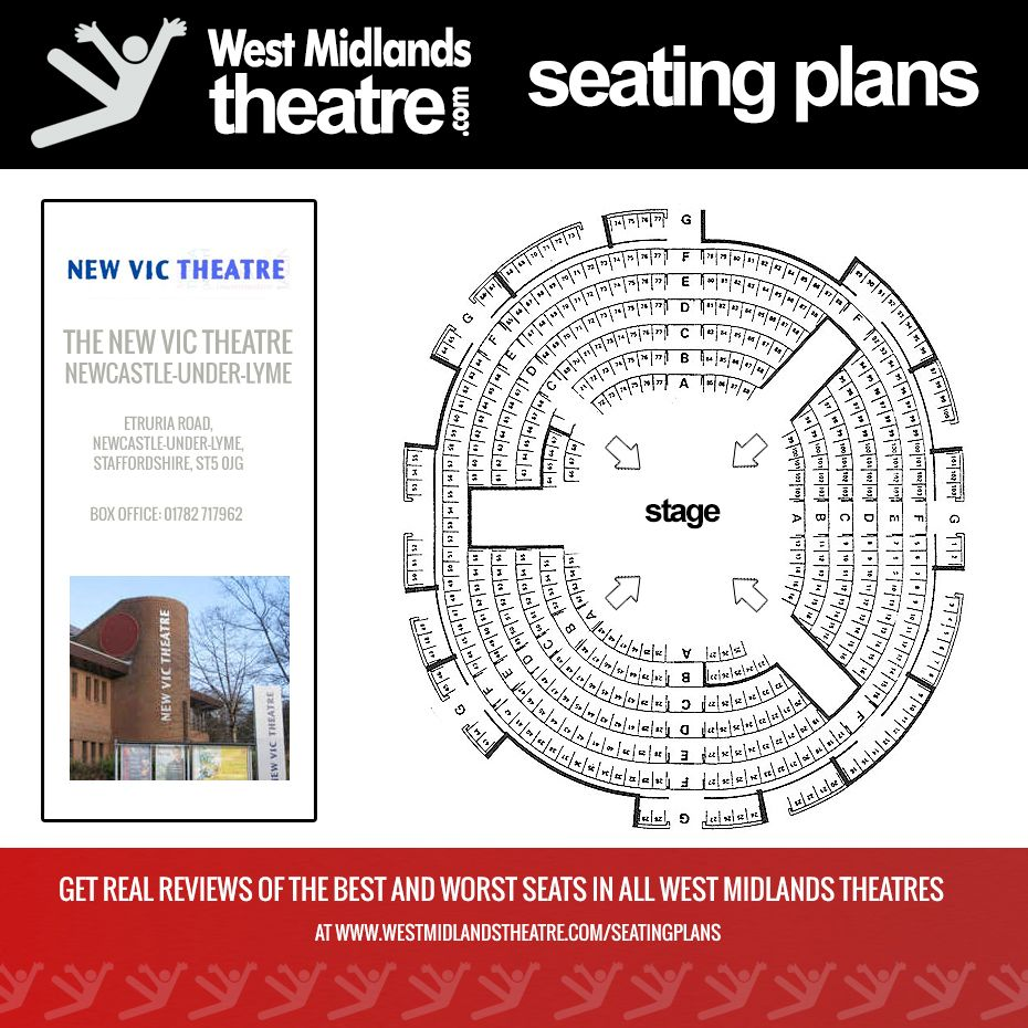 west midlands theatre seating plan for the stoke on trent