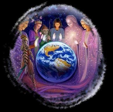 SERES DE LUZ QUE PROTEGEN NUESTRO PLANETA, ELOHINES, ANGELES, GUARDIANES Y  ELEMETALES | Tarot de angeles, Dibujos de loto, Espiritualidad