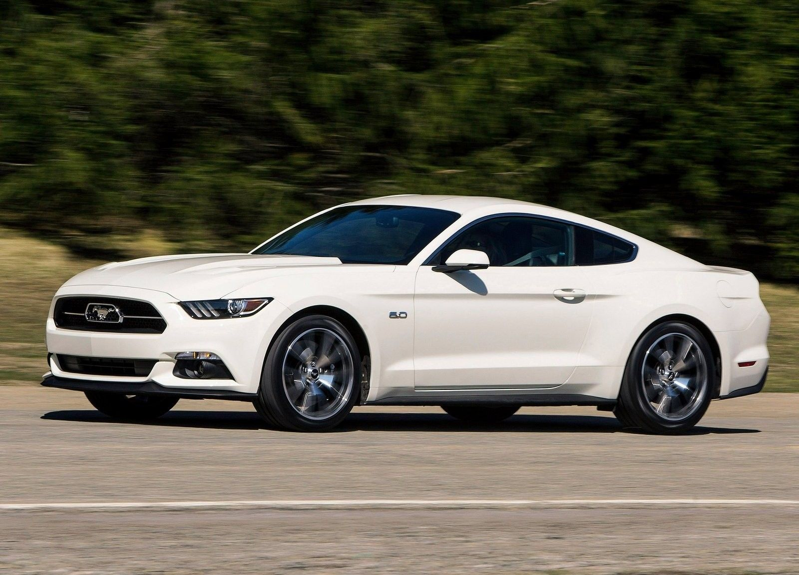 New ford mustang unveiled 50th anniversary limited edition mustang at 2014 new york