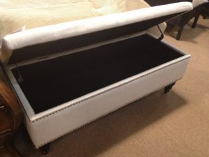 6 Foot Long Storage Bench