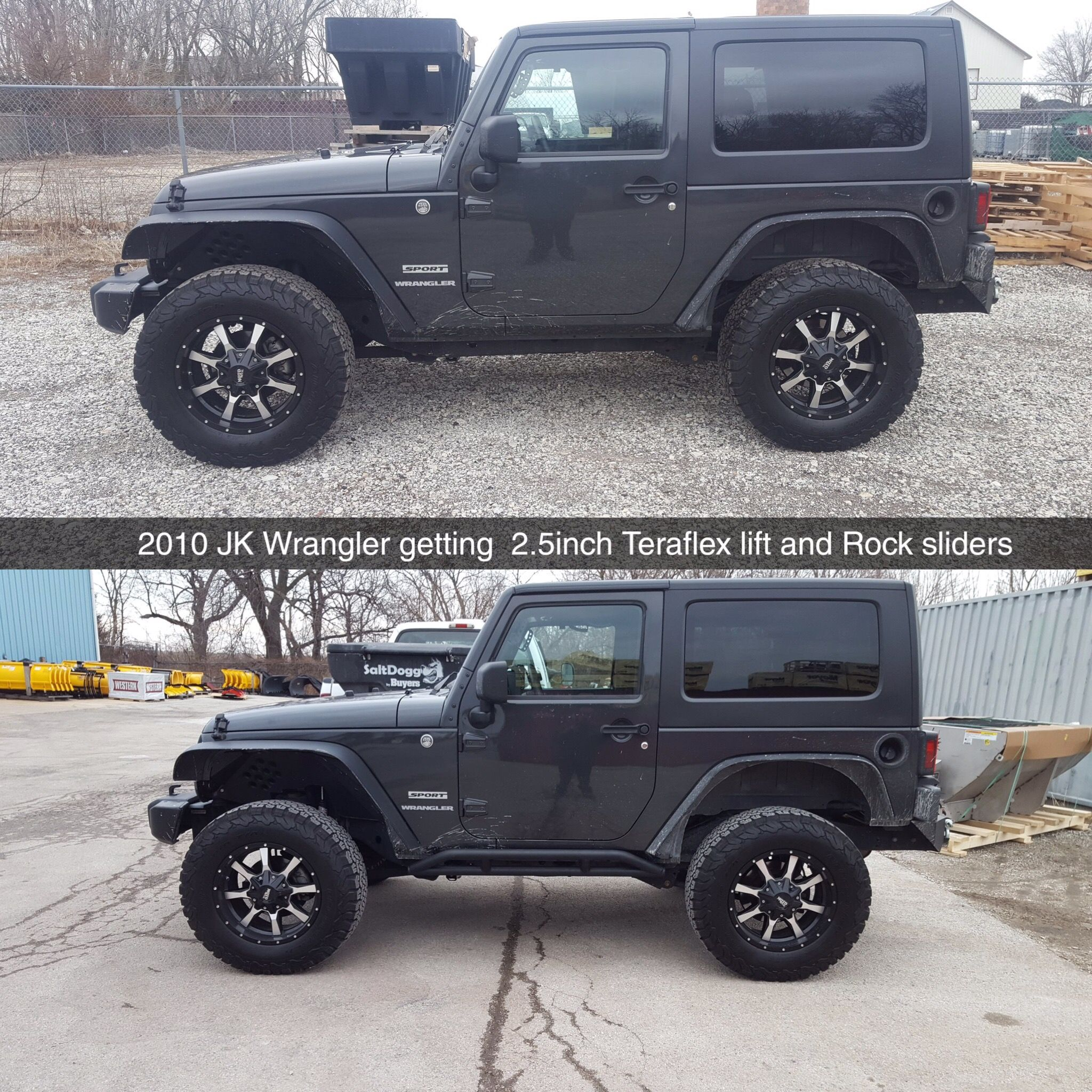 This 2010 Jeep Wrangler Jk Got A 2 5 Inch Lift Kit And Some Rock