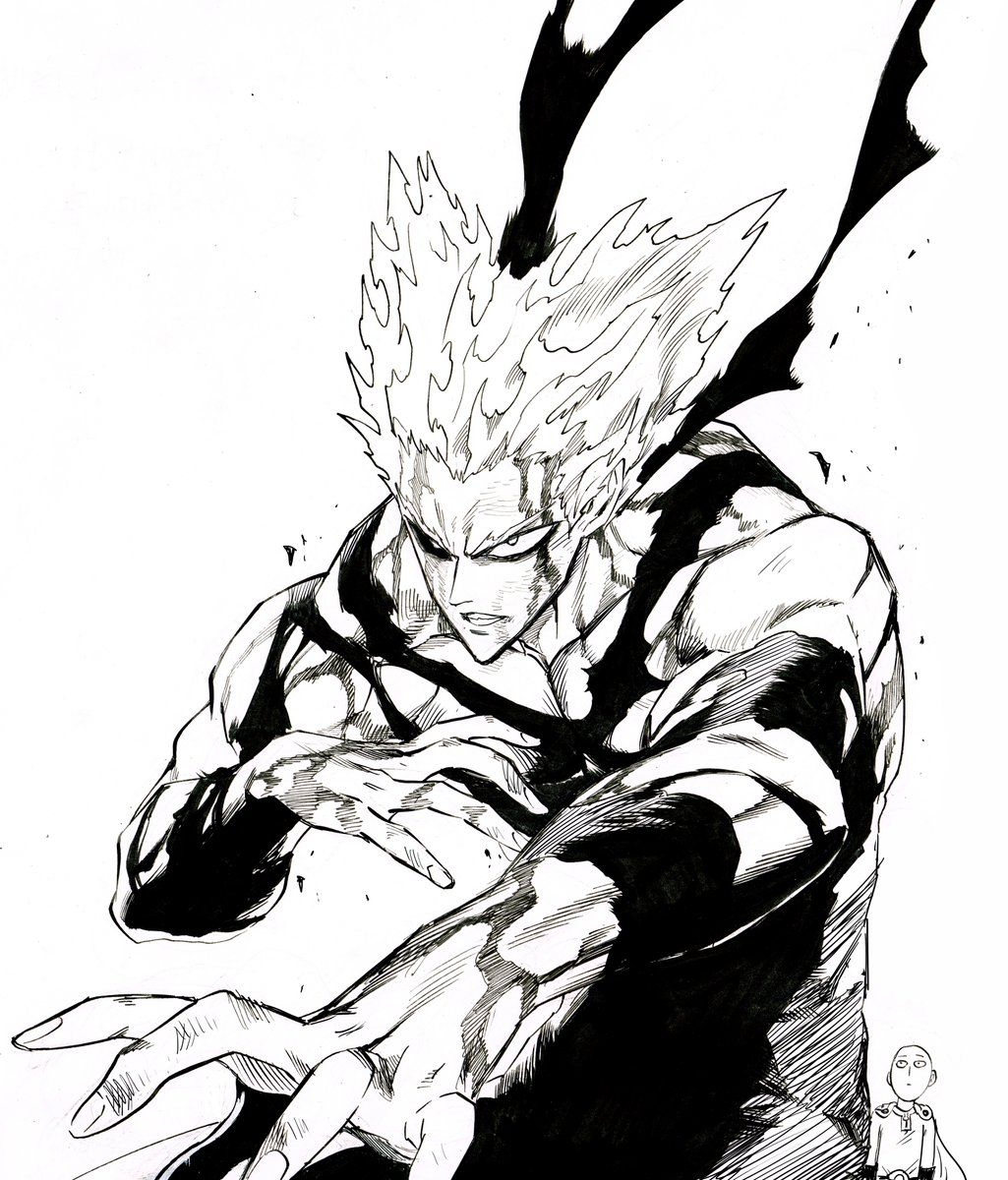 Pin By Fatah On Garou In 2020 One Punch Man Manga One Punch Man Anime Saitama One Punch Man