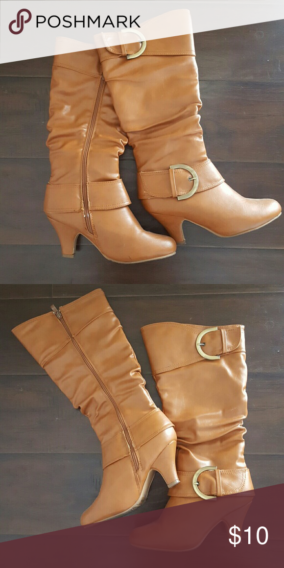 Knee High Heeled Boots FEEL FREE TO MAKE AN OFFER Good condition Top Moda Shoes Heeled Boots