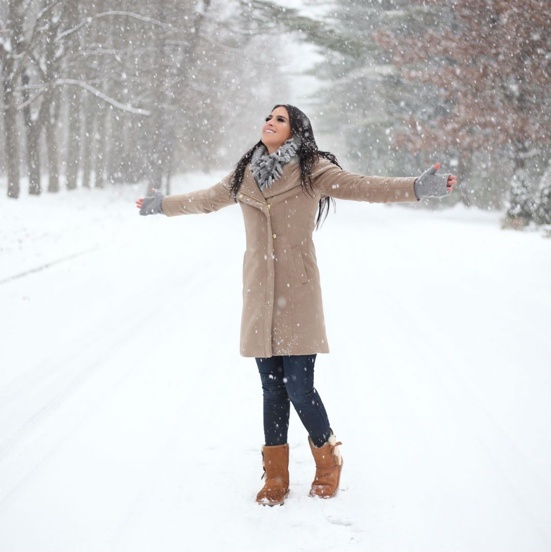 How to cuffed wear jeans in winter