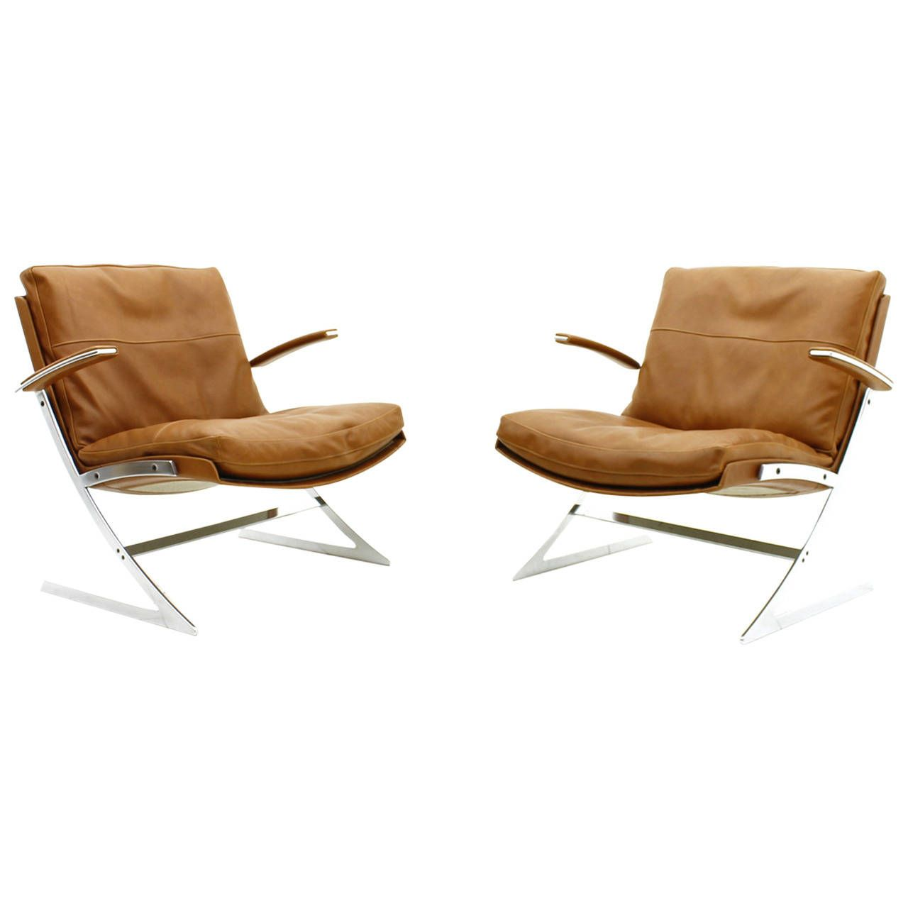 Pair Of Lobby Lounge Chairs By Preben Fabricius For Arnold Exclusiv 1972 Danish Lounge Chair Leather Chaise Lounge Chair Vintage Lounge Chair